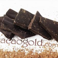 Крафтовий чорний шоколад 65%, на керобі ТМ CacaoGold